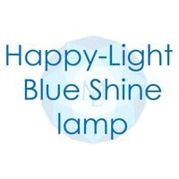 Лампа Happy-Light Blue Shine